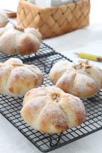 4月のBREAD  LESSON始まりました。 - パンとアイシングクッキー、マシュマロフォンダントの教室 launa