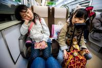夜行バス帰省 - natsunana