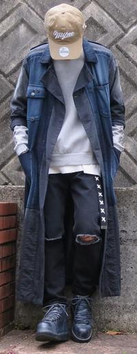 Navy×Gray×Black #3 - メンズファッション塾-ネクステージ-