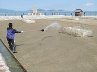 A restored salt pan|復元塩田 - 旅年譜  Chronological Record of Junya Nakai's travel