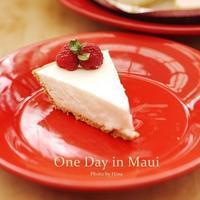 マウイで習った、世界一簡単な?レアチーズケーキ - Cucina ACCA