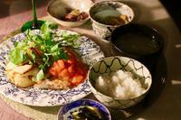 春のお夕食 - マドモアゼルジジの感光生活
