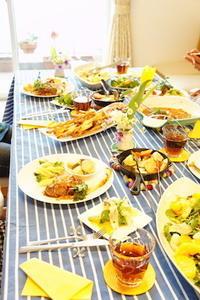 グループレッスン*お野菜たっぷりバルメニュー -         川崎市のお料理教室 *おいしい table*        家庭で簡単おもてなし♪