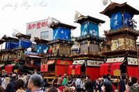 犬山城前広場に山車が終結 - Ryu Aida's Photo