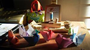 ☆彡~??折り紙切り紙だよ~~n(^O^)??~♪ - ☆彡しーちゃんの風さんの詩♪