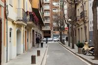 サグラダ・ファミリアに近い裏通りと、ホテルの屋上テラスからの眺め(スペイン、バルセロナ) - 旅プラスの日記