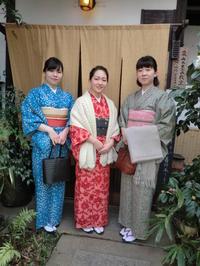 今回は三姉妹さまで、カラフルに。 - 京都嵐山 着物レンタル&着付け「遊月」