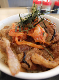 【4/4~4/11】松屋 お肉50%増量 キムカル丼 並 【期間限定】 - 食欲記(物欲記)