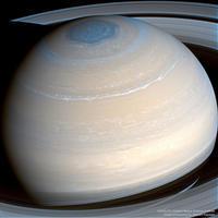 土星探査機カッシーニが捉えた土星の北極圏の全体像 - 秘密の世界        [The Secret World]