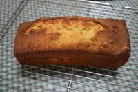 柚子ジャム(茶)のパウンドケーキ - こぶたのノンビリ生活