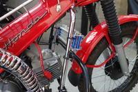 ハンターカブ オイルクーラー装着 - 0024 Motor 商会