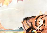 挿し絵の仕事「詩とファンタジーNo.35」 - yuki kitazumi  blog