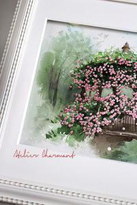 JWS作品額装 - Atelier Charmant のボタニカル・水彩画ライフ