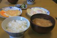 味噌汁の朝餉 - ぶん屋の抽斗