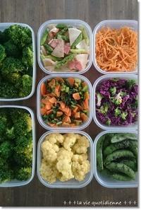 今週の常備菜☆春色ハニマ和えのレシピと離乳食のストック - 素敵な日々ログ+ la vie quotidienne +