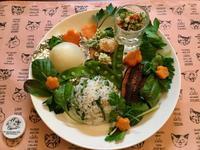 三つ葉御飯のワンプレート - カフェ気分なパン教室  ローズのマリ