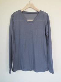 ソフトVあきの長袖Tシャツできました - 想いをかたちに・・・