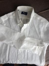 IKE's linen shirt - age of vintage