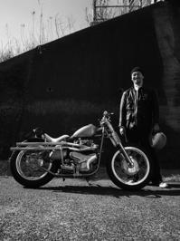 大石 禅峰 & kawasaki W1S(2017.02.26) - 君はバイクに乗るだろう
