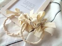 リボンのリース - handmade flower maya