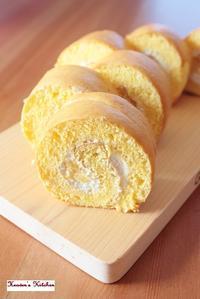 おやつ。ロールケーキとバナナマフィン。 - Heaven's Kitchen