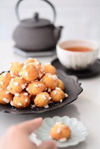 Paris の思い出のお菓子 シューケット - Misako's Sweets Blog アイシングクッキー 教室 シュガークラフト教室 フランス菓子教室 お菓子 教室