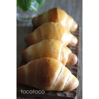 ホシノ丹沢酵母のロールパン - パン教室tocotoco