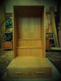 栗材 の お仏壇 - 手作り家具工房の記録
