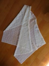 ☆ サマーヤーンでレース編み - ひまわり編み物