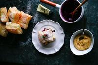 ミルフィユ レシピ (バニラカスタード) - のんびりのびのび