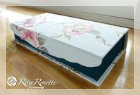 小さめお道具箱♪ - Rosy Rosette カルトナージュ日記