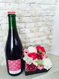母の日にワインとフラワーアレンジメントを送りませんか🌸 - Wine Shop FUJIMARU 東京