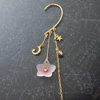 プラバンで桜のイヤーフックを作りました♪ - Smiling * Photo & Handmade 2