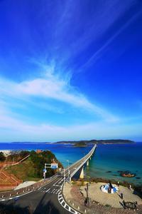 角島大橋 - 彩