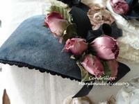 お花と土台布にこだわって♪ - 愛知 豊橋 布花アクセサリーCendrillon