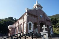 井持浦教会とルルド - レトロな建物を訪ねて