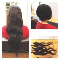 ヘアドネーションにご協力頂いたM様! - 東京都荒川区にある尾久駅前の美容室 WEST HAIR DESIGNのブログ