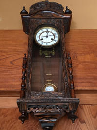 ユンハンス 掛け時計修理 - トライフル・西荻窪・時計修理とアンティーク時計の店