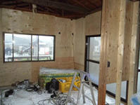 やっと、壁工事始まる - ひろぽんのつぶやき