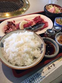 焼肉ランチ - たっちゃん!ふり~すたいる?ふっとぼ~る。  フットサル 個人参加フットサル 石川県