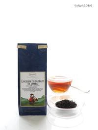 イングリッシュブレックファーストセントジェイムス@モダンスタイルでティータイムを楽しみましょう - お茶をどうぞ♪