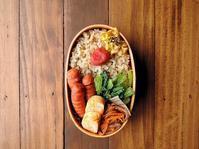 4/7(金)焼きソーセージ弁当 - おひとりさまの食卓plus
