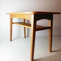 木の温かさを感じられるヴィンテージスタイルのカフェテーブル[unico/KURT] - 杉並区、中野区のリサイクルショップ two's RECYCLE