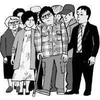 挿し絵の仕事  「脳梗塞サバイバー が考える患者支援ガイド 01」週間金曜日 4/7  2017 - yuki kitazumi  blog