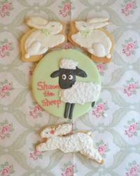 ひつじのショーンクッキー - 調布の小さな手作りお菓子・パン教室 アトリエタルトタタン
