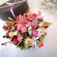 4月1dayレッスンのお知らせ♪ - ドライフラワー教室&木の実のアクセサリー教室  driedflower & nuts accessory   gland*