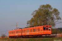 更にオレンジに。 - 山陽路を往く列車たち
