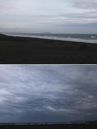 2017/04/07(FRI)小雨が降ったり止んだり強風の海辺。 - SURF RESEARCH