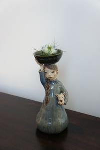 「花咲き緑薫る」展 出品予定作品 渡邉貴子さん1 - IRONIHOFU BLOG  色匂ふブログ