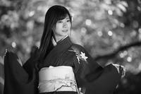 美雨ちゃん4 - モノクロポートレート写真館